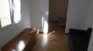 Piso interior con mucha luz, 1 habitación